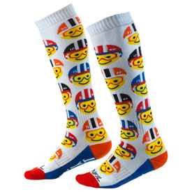 O'Neal Racing Youth Pro MX Socks  Emoji Racer