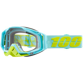 100% Racecraft Goggle  Pinacles Frame/Clear Lens