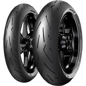 Pirelli Diablo Rosso Corsa 2 Front Motorcycle Tire | Motorcycle ...