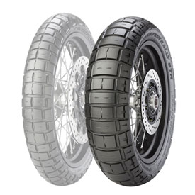 Pirelli Scorpion Rally STR Rear Motorcycle Tire
