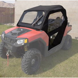 Polaris Full Cab Enclosure System with Heater Kit