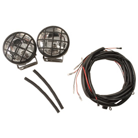 Polaris Pre-Runner Front Bumper Rally Light Kit