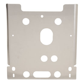 Polaris Aluminum Rear Differential Skid Plate