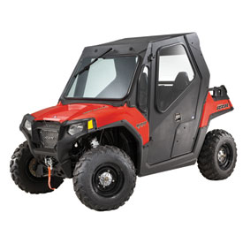 Polaris Steel Cab with Steel Doors and Wiper Kit