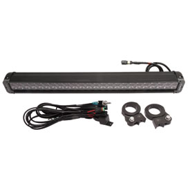 "Polaris 27"" Dual Row LED Light Bar with Clamps and Wire Harness"