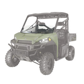 Polaris Lock & Ride Pro-Fit Half Windshield
