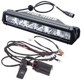 polaris 13 led light bar with wire harness utv rocky mountain rh rockymountainatvmc com Whelen Lights Diagram Off-Road LED Light Bar Wiring Kit