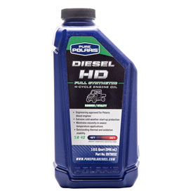 Polaris diesel hd full synthetic engine oil atv rocky for What takes motor oil out of clothes