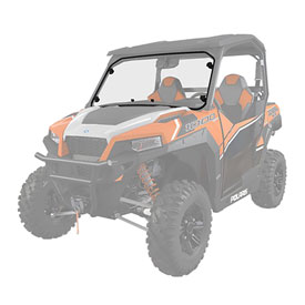 Polaris Lock & Ride Hard-Coat Full Poly Windshield