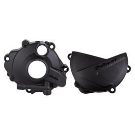 Polisport Clutch & Ignition Cover Protectors Kit