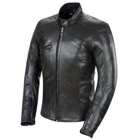 Power-Trip Scarlet Ladies Motorcycle Jacket