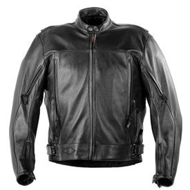 Power-Trip Power Glide Leather Motorcycle Jacket