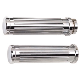 Pro-One Chrome Billet Grips