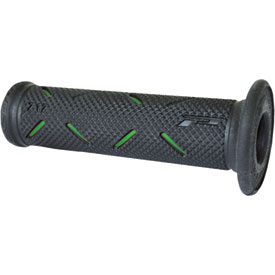 "Pro Grip 717 Road Grips Green/Black 7/8""-1"""