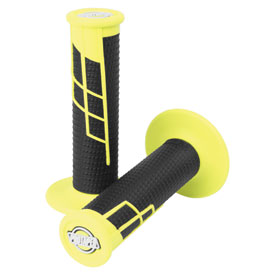 ProTaper Clamp-On Grip System - Half Waffle Neon Yellow/Black
