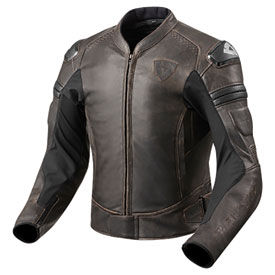 REV'IT! Akira Air Vintage Perforated Leather Jacket