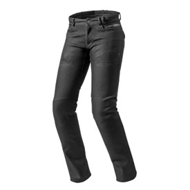"REV'IT! Women's Orlando H2O Jeans 31"" x 34"" Black"