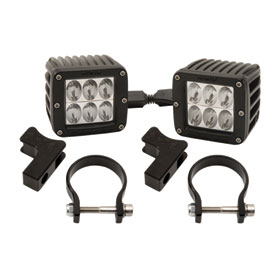 Rigid Industries Dually D2 LED Drive Beam Lights With Horizontal Light Mounts