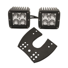 Rigid Industries Dually 2x2 LED Lights with ATV Mount