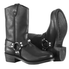 River Road Ranger Harness Motorcycle Boots