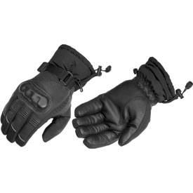 River Road Resistance Cold Weather Leather Motorcycle Gloves