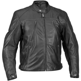 River Road Mesa Leather Motorcycle Jacket