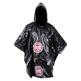 Rocky Mountain ATV/MC Rain Poncho One Size Fits Most Red/Black