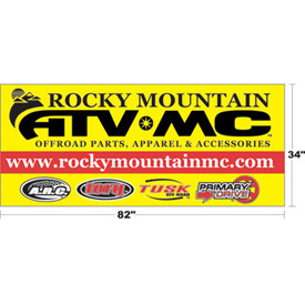 Rocky Mountain ATV/MC Logo Banner