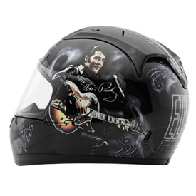 Rockhard Elvis 1968 Full-Face Motorcycle Helmet