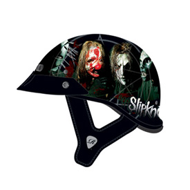 "Rockhard Slipknot ""Nine"" Half-Face Motorcycle Helmet"