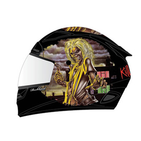 Rockhard Iron Maiden Full-Face Motorcycle Helmet
