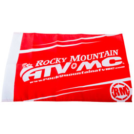 Rocky Mountain ATV/MC Replacement Lighted Whip Edge Logo Flag and O-Ring Kit