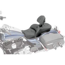 Saddlemen Road Sofa Low Profile Deluxe Touring Seat w/Driver Backrest