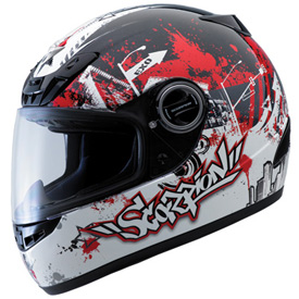 Scorpion EXO-400 Motorcycle Helmet