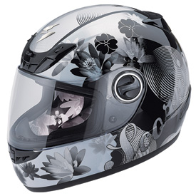 Scorpion EXO-400 Lilly Ladies Motorcycle Helmet