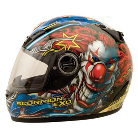 Scorpion EXO-400 Showtime Motorcycle Helmet