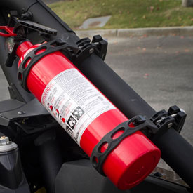 Scosche TerraClamp Heavy-Duty Fire Extinguisher Mount with Kidde 2.5 lb. ABC Fire Extinguisher