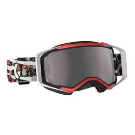 Scott Prospect Ethika Special Edition Goggle  Red-Black Frame/Silver Chrome Works Lens