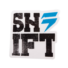 Shift Typecast Die Cut Sticker