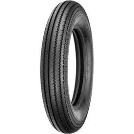 Shinko 270 Super Classic Motorcycle Tire 5.00-16 Tube Type (69S) Black Wall
