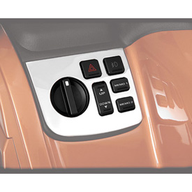 Show Chrome Accessories Control Panel Accent - Left Side