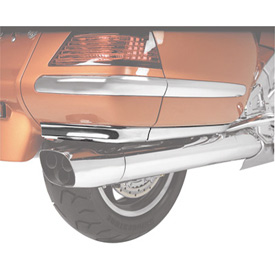 Show Chrome Accessories Lower Saddlebag Air Dam Spoiler