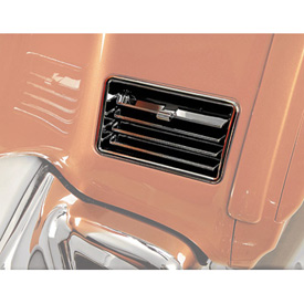 Show Chrome Accessories Lower Vents
