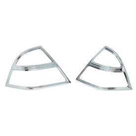 Show Chrome Accessories Trunk Molding Inserts - Saddlebag Grille