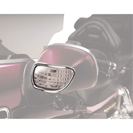 Show Chrome Accessories Turn Signal Mirror Light