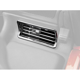 Show Chrome Accessories Upper Air Vents