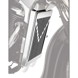 Show Chrome Accessories V-Style Radiator Grille