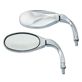 Show Chrome Accessories Twisted Cruiser Mirror - Yamaha
