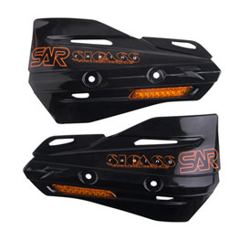 Sicass Racing Plastic Hand Shields With Turn Signal Dirt Bike