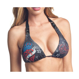 Sinful American Spirit Ladies String Bikini Top